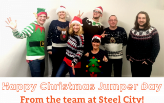 Merry Christmas from Steel City!