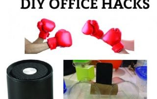 The Battle of the DIY Office Hack Vs Promotional Gifts!
