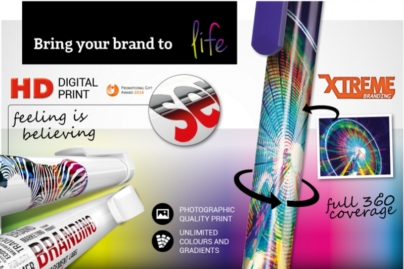 High Definition and Xtreme Branded Pens