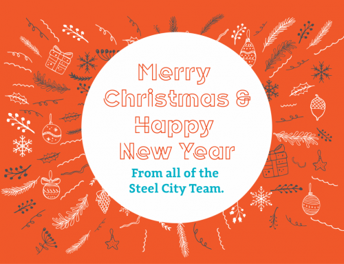Merry Christmas 2019 from all the Steel City Team!