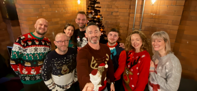 The Steel City Team Christmas 2019