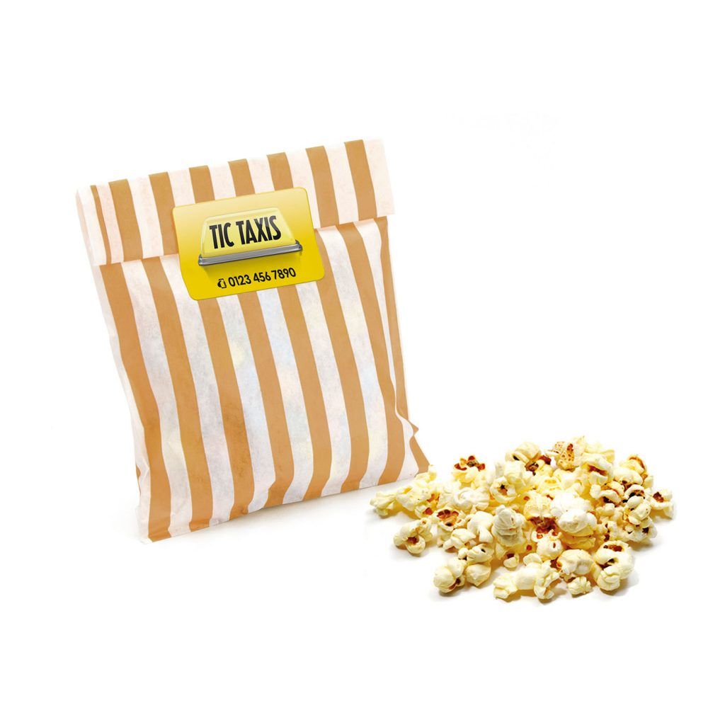 Vegan-Friendly Branded Bag of Popcorn