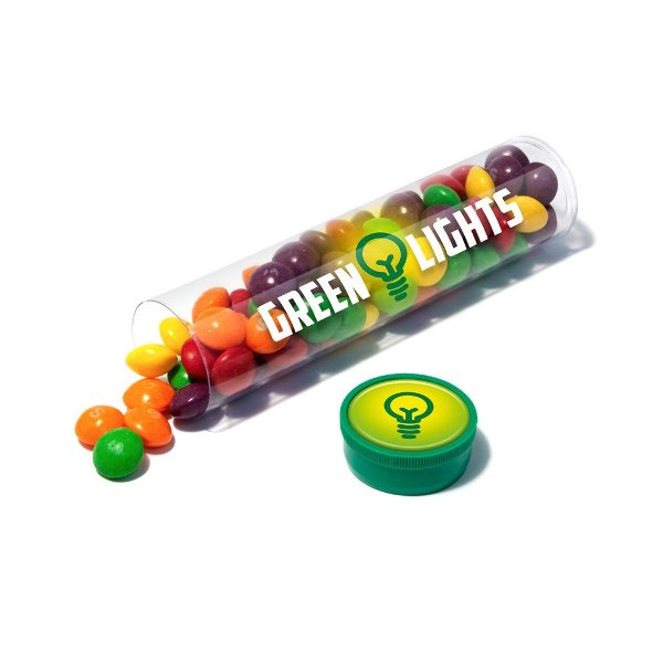 Branded Tube of Vegan-Friendly Skittles