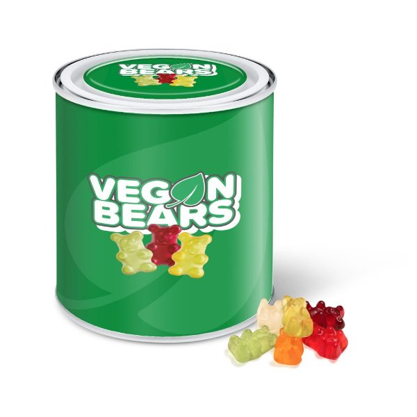 Tin Vegan Gummy Bears