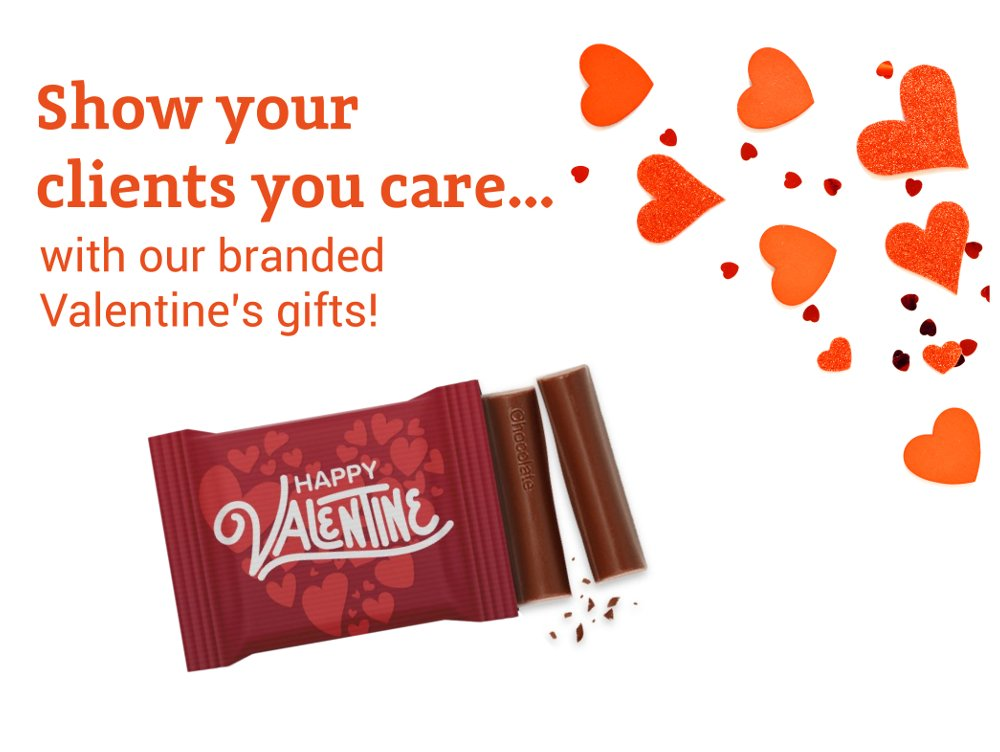 Branded Valentine Gifts Title