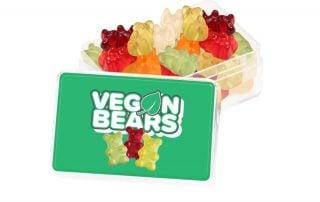 Branded Vegan Gummy Bears Title