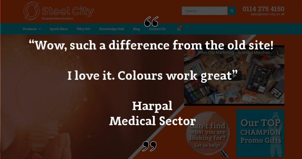 Website Feedback Harpal