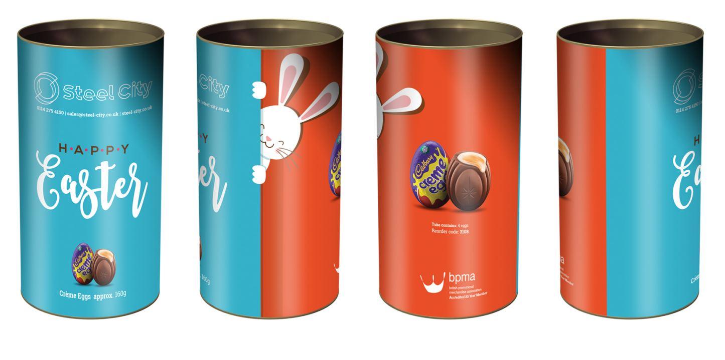 Branded Easter Egg Tubes