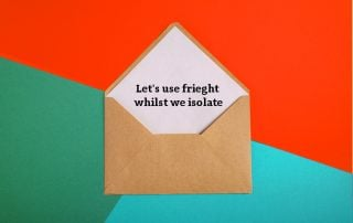 Use Freight Whilst We Isolate