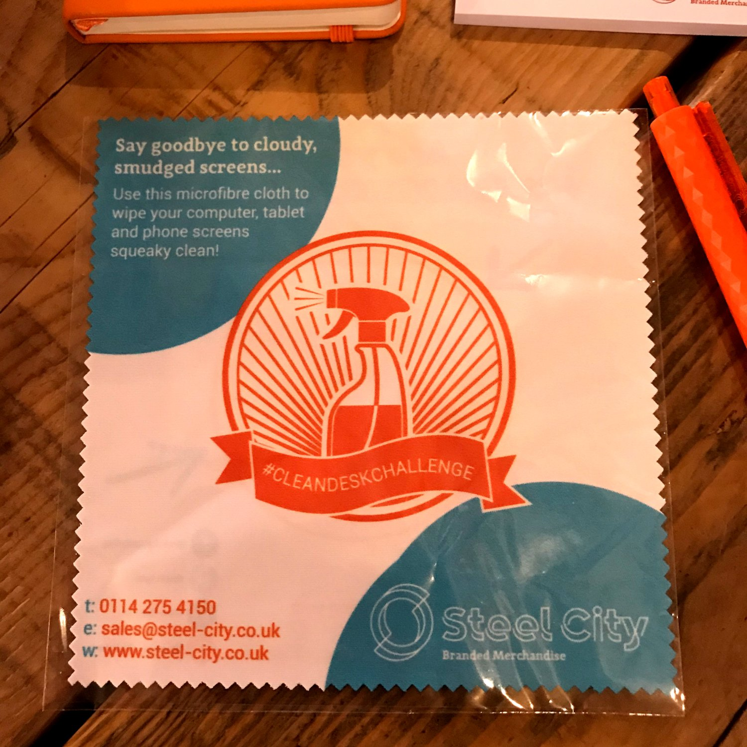 Branded screen cloth mousemat