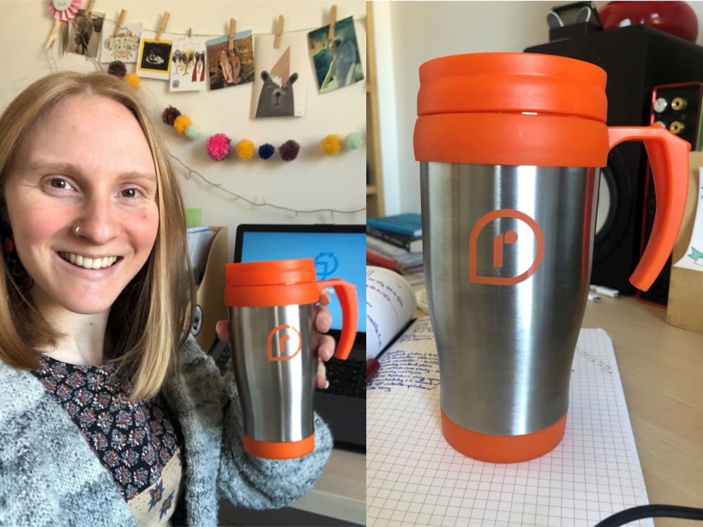 Personalised Branded Flasks Brighten Up Colleagues Day During Lockdown