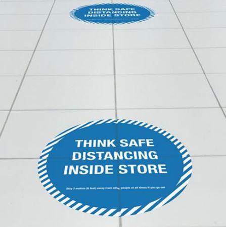 Self-adhesive floor vinyl