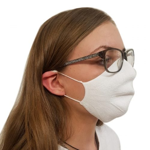 UK Made Fabric Reusable Branded Face Mask