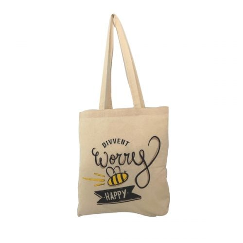 Antibacterial 5oz Natural Cotton Shopper