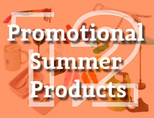 12 Summer Promotional Products