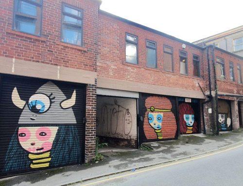 Sheffield Legend Artist Kid Acne Makes His Mark